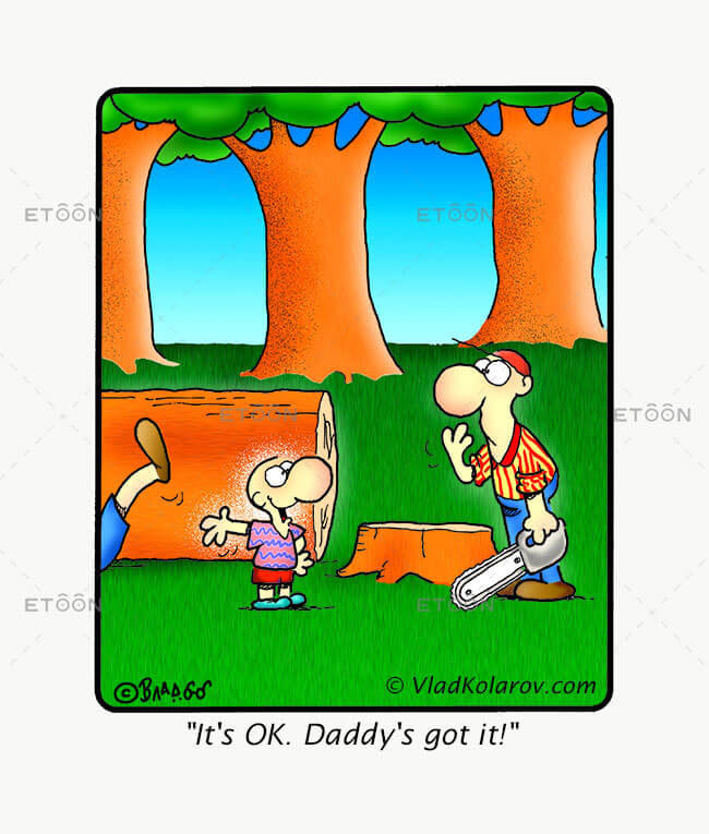 Its OK! Daddys got it!: eToon cartoon for newsletters, presentations, websites, books and more