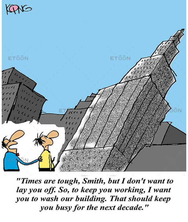 Times are tough, Smith...: eToon cartoon for newsletters, presentations, websites, books and more