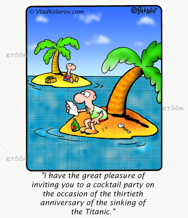 I have the great pleasure of inviting you...: eToon cartoon for newsletters, presentations, websites, books and more