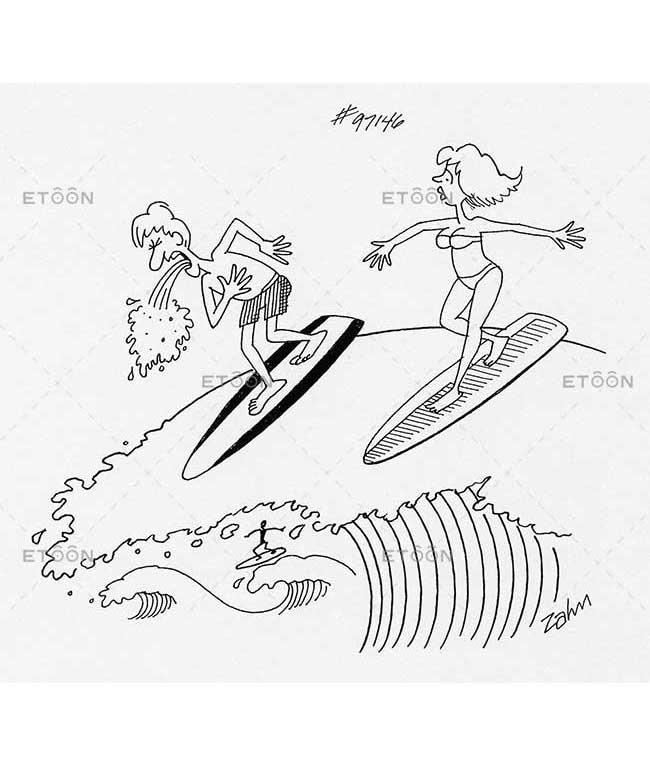 Surfing puke...: eToon cartoon for newsletters, presentations, websites, books and more