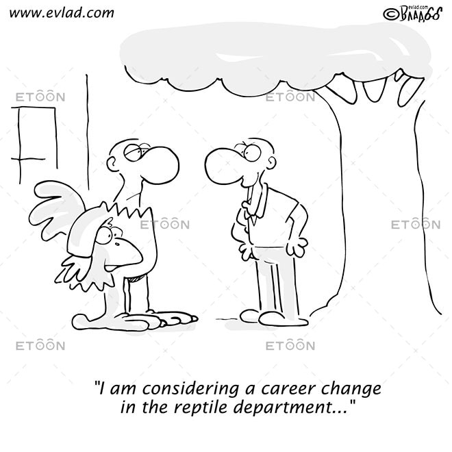 I am considering a career change...: eToon cartoon for newsletters, presentations, websites, books and more