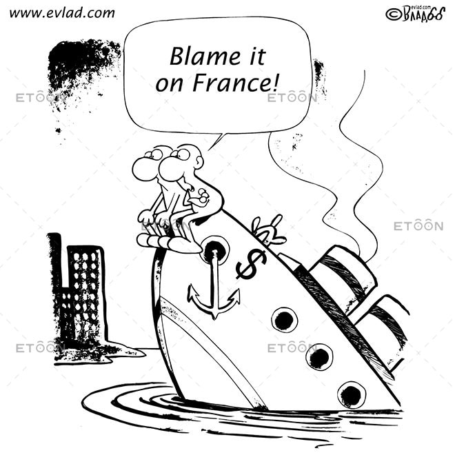 Blame it on France!: eToon cartoon for newsletters, presentations, websites, books and more