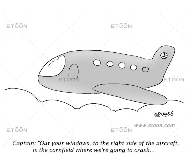 Captain: Out your windows...: eToon cartoon for newsletters, presentations, websites, books and more