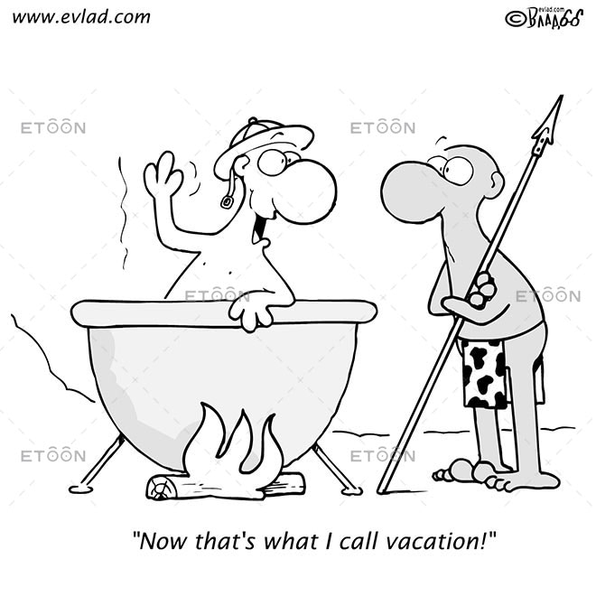 Now thats what I call vacation!: eToon cartoon for newsletters, presentations, websites, books and more