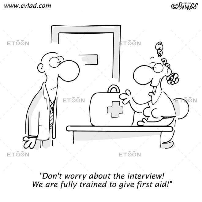 Dont worry about the interview!...: eToon cartoon for newsletters, presentations, websites, books and more