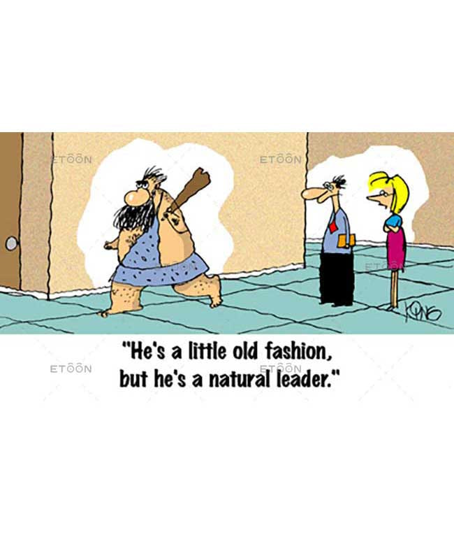 Hes a little old fashion...: eToon cartoon for newsletters, presentations, websites, books and more