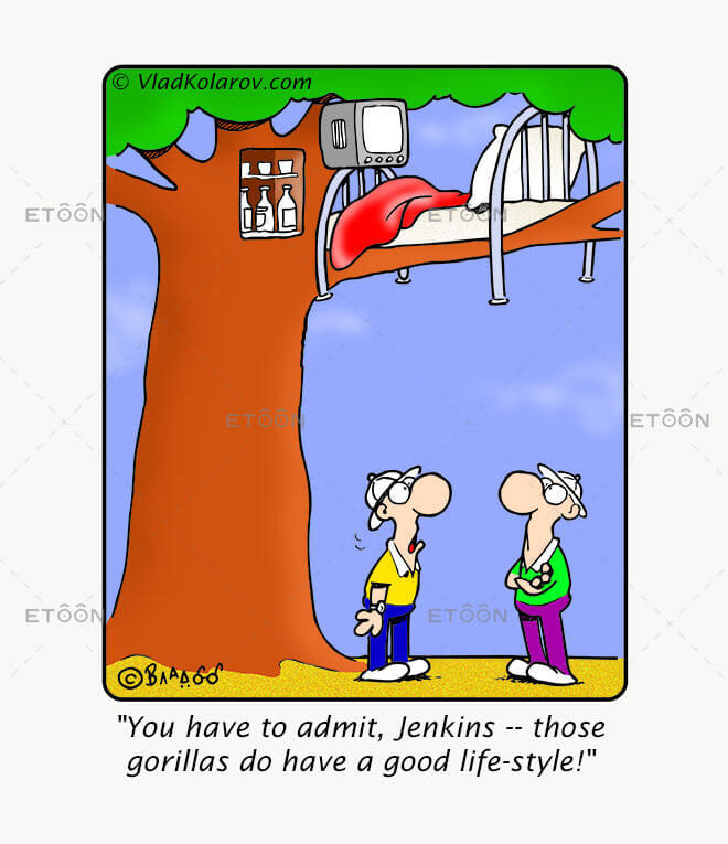 You have to admit: eToon cartoon for newsletters, presentations, websites, books and more