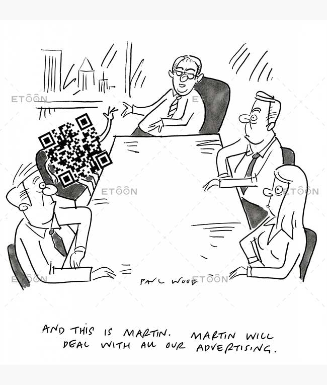 paulwood#005: eToon cartoon for newsletters, presentations, websites, books and more