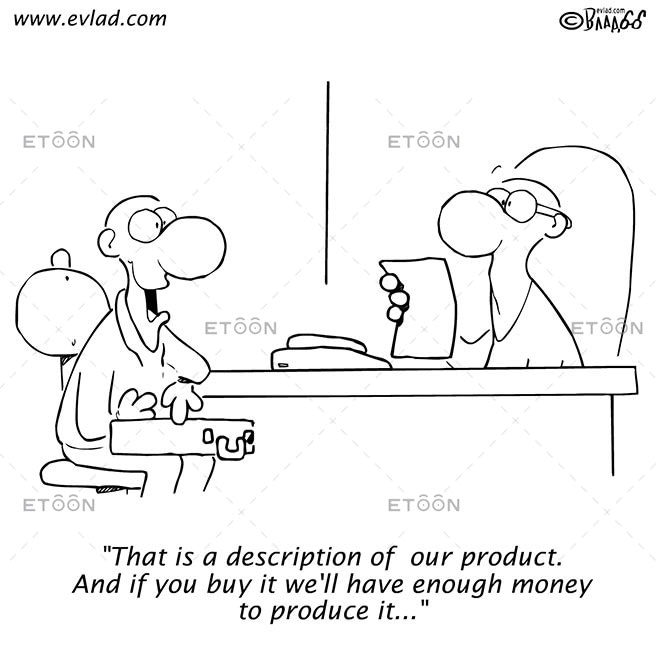 That is a description of our product...: eToon cartoon for newsletters, presentations, websites, books and more
