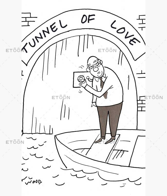 Love of money: eToon cartoon for newsletters, presentations, websites, books and more