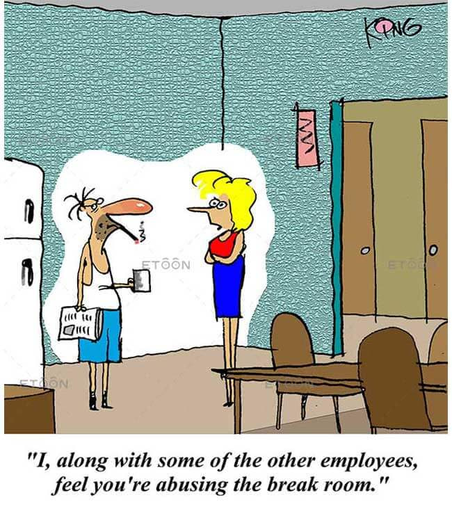 I, along with some of the other employees...: eToon cartoon for newsletters, presentations, websites, books and more